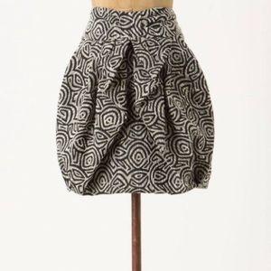ANTHROPOLOGIE Eva Franco draped jungle skirt 4